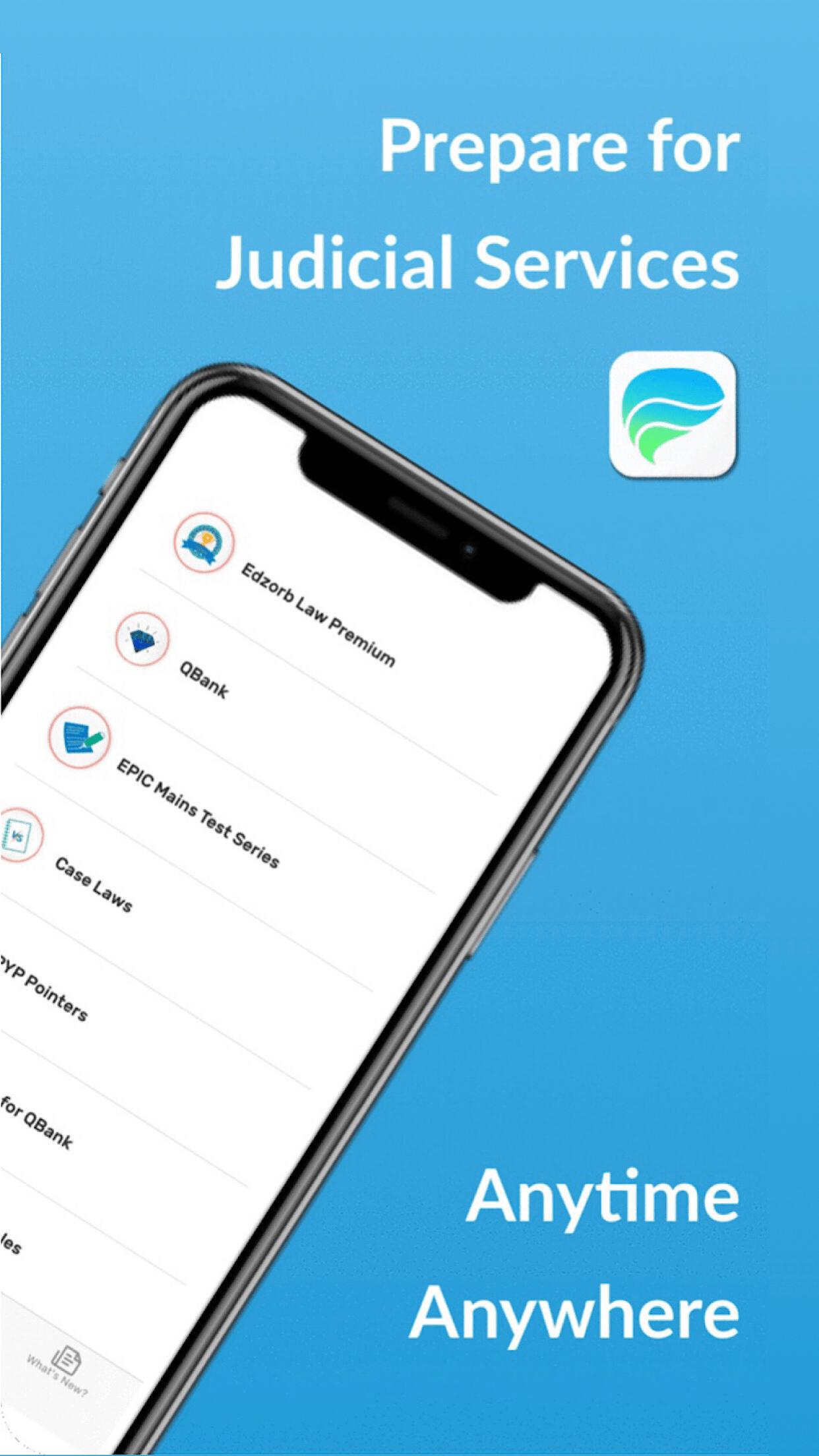Edzorb Law App Screen shot - Prepare anywhere any time-min